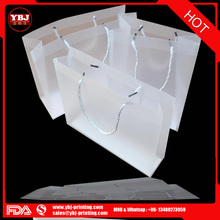 Guangzhou pvc gift packing bag with button/zipper high quality pvc bags for gift packing