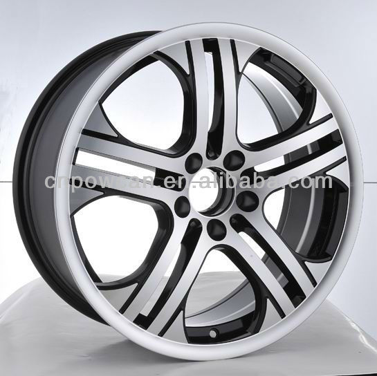 18 inch Front and Rear PCD 5x112 Machined Polish Replica aluminum alloy wheel rim