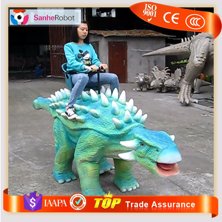 Original Style Playground Dinosaur Shape Ride Robots Zoo Riders for Children