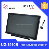 UGEE 1910B 19 inch touch screen tablet monitor, pen interactive display