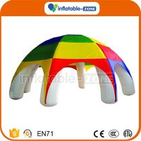 Newest style inflatable mobile hospital tent inflatable clear tent/out door inflatable tent for sale