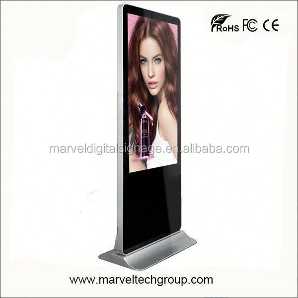55 Inch Stand Alone Marvel Good Quality indoor kiosco multimedia player