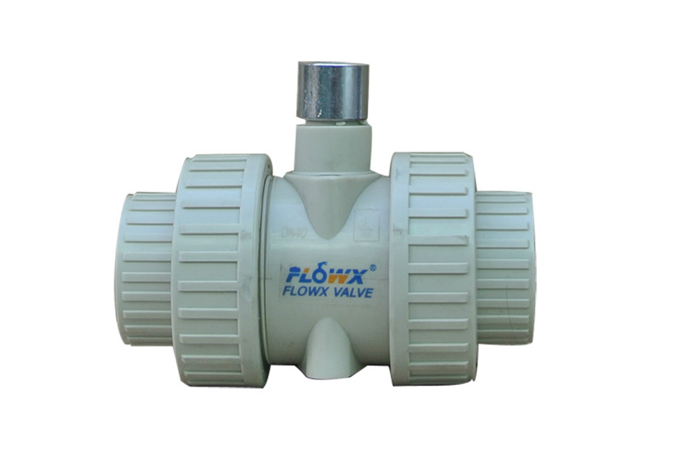 Flowx 2013 New Design Manual two PVC valve main products are: electric butterfly valve, pneumatic butterfly valve