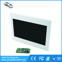 Customized Cover Print TFT Screen MP4 HD Panel Video Brochure with SD Card Recorder