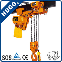 Different Style 0.5t-50 Ton 380 v Chain Block Electric Hoist