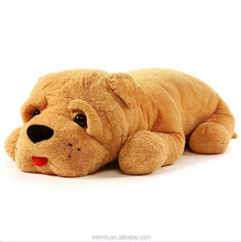 Giant Stuffed Puppy Dog Pillow Promotional Soft Extremely Plush Animal Toy Promotional Pillow