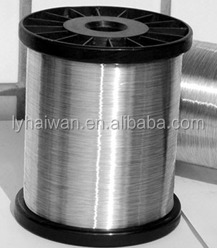 Highly mechanized, advanced technology galvanized wire 0.13mm,0.20mm,0.22mm for kitchen scrubber