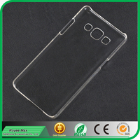 high transparent cell phone hard crystal back cover case for samsung galaxy A5