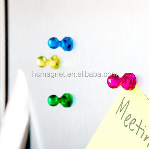 Office magnets/refrigerator magnet/magnetic push pins with low price