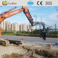 Cheap Excavator mounted Vibratory Pile Driver & Pile Hamme for sale made in China