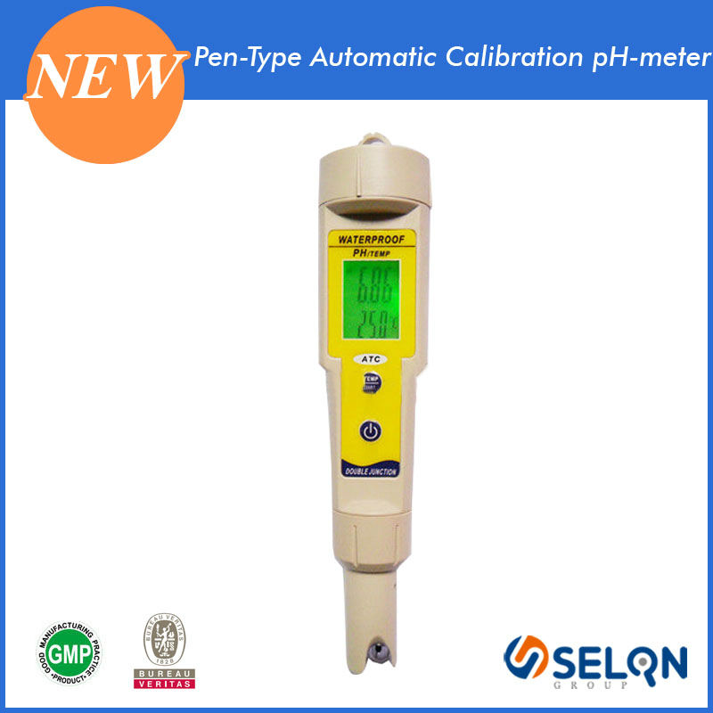 SELON pH-618 ELECTRONIC PH METER, WATERPROOF PH METER, DIGITAL PEN TYPE PH METER