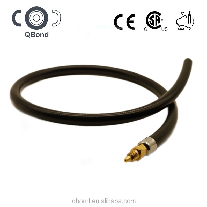 csa high temperature heavy duty gas connector flexible hose pipe