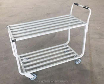 2 Tiers Warehouse Cart