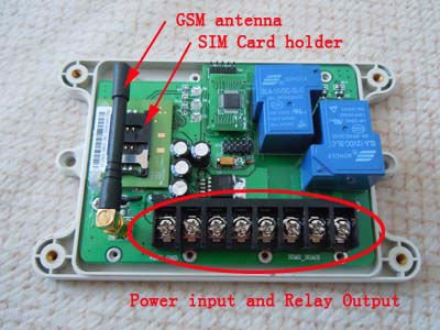 GSM-AUTO GSM remote control switch box