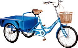 cheap adult cargo tricycle made in tianjin for sale TR001D