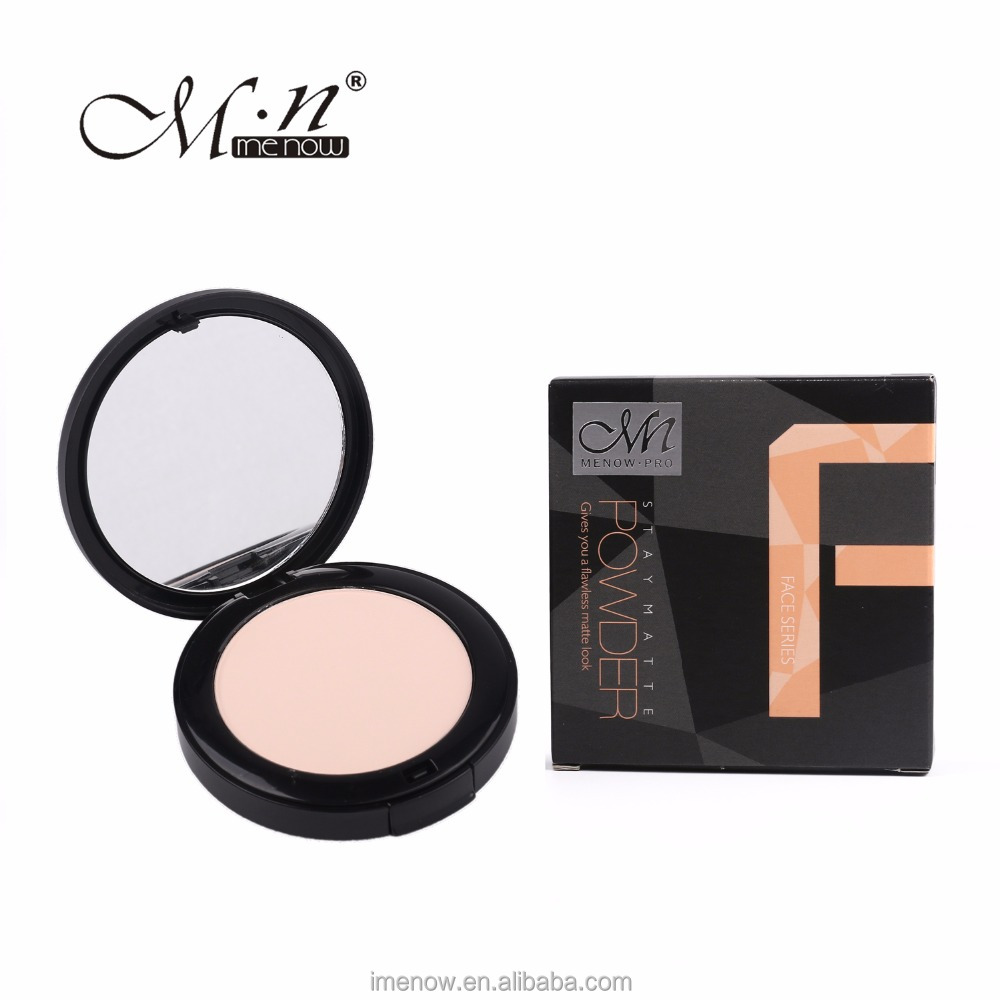 Menow F13006 cosmetic face foundation pressed powder with Mirror Cosmetic Makeup