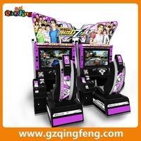 Qingfeng Initial D 7 MR-QF180 hot new arcade game machine street racing cars for sale