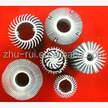 extrusion aluminum 6063 T5 profile / led aluminum circular extrusion heat sink/aluminum profile for heat sink
