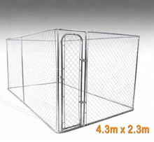 6x10x6 cheap chain link indoor dog kennels