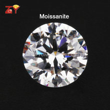 High Quality Round Diamond Cut Created Moissanite Price Per Carat