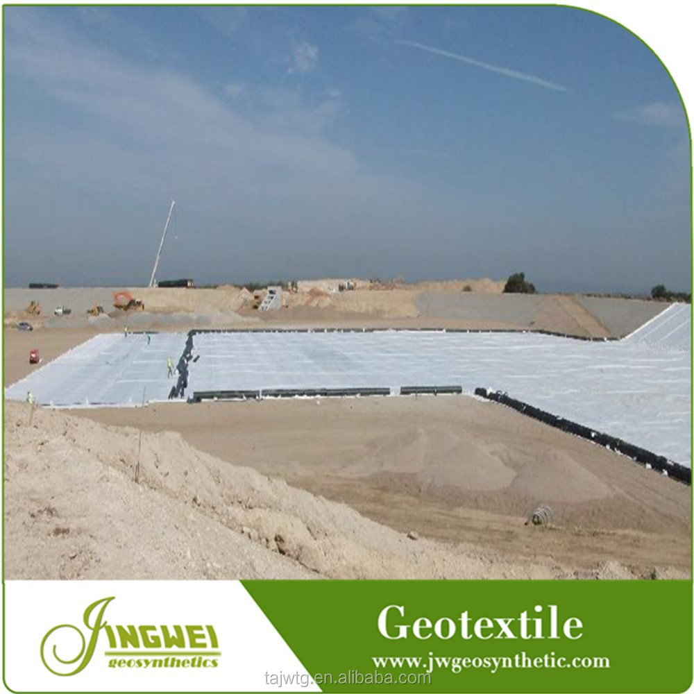 Chinese high quality reinforced road building geotextile fabric price