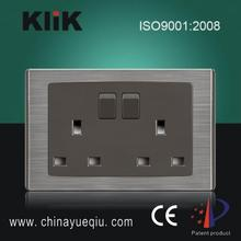 BS1363 High Quality Double 13A Socket Outlet