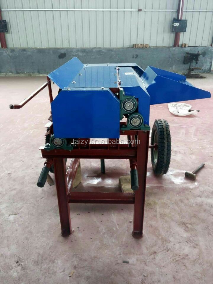 Automatic natural hemp decorticator with good price