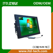 wide temperature 15 inch touch screen monitor
