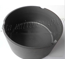 High purity Sic graphite aluminium melting crucibles manufacturer