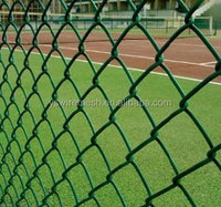 anping pvc coated galvanized chain link fence