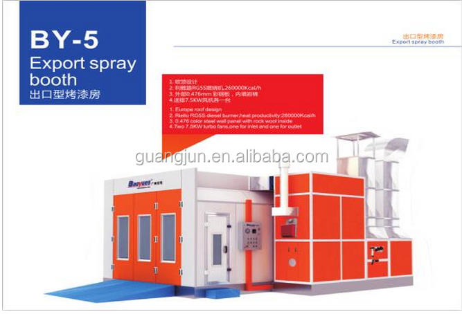 GJ-5 export booth for the car imported with certifation