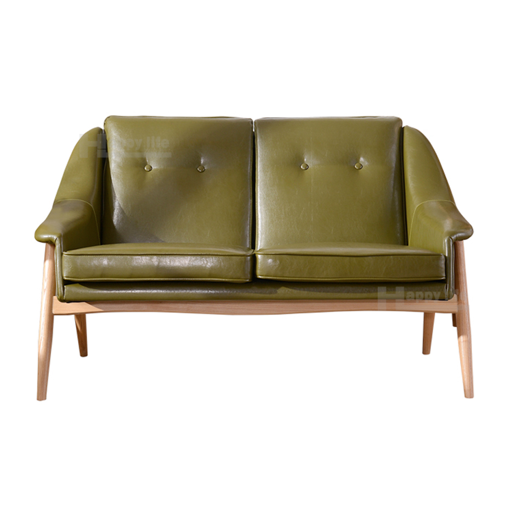 New design living room furniture leather sofa with solid wood frame two seat sofa buy leather - Latest furniture ...