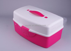 Well-designed Knick-knack Storage Box with Handle Pills Box