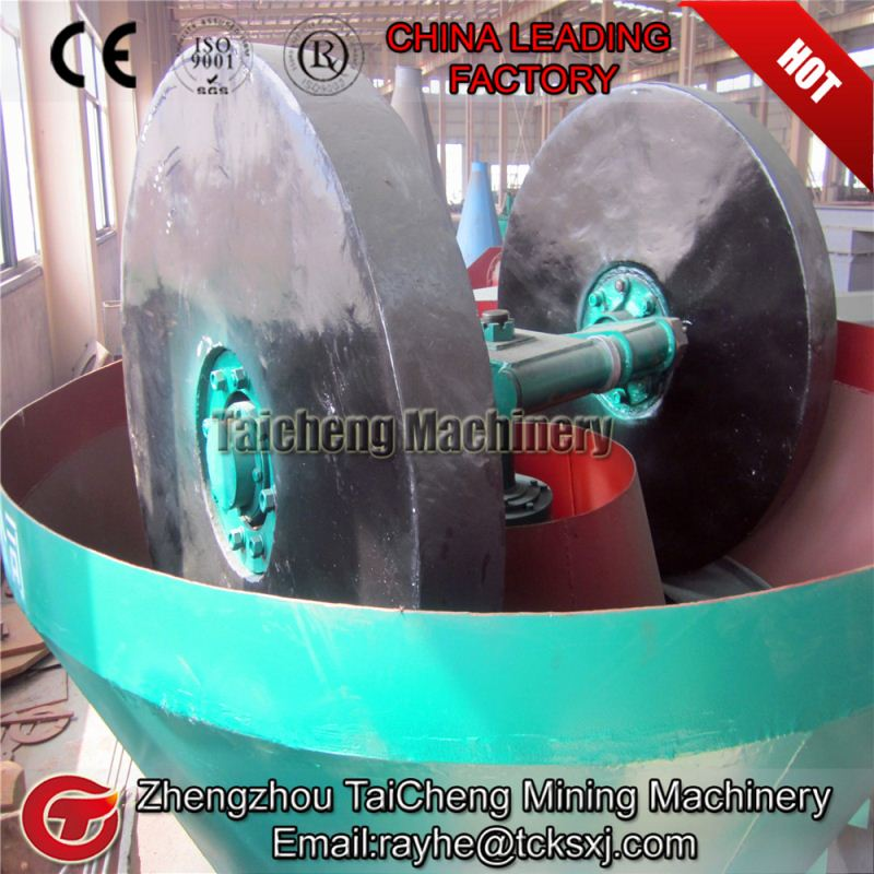 High quality wheel roller mill gold with CE