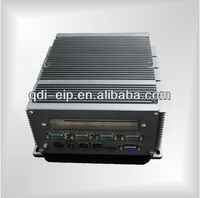 Embeded Fanless Box PC onboard ULV Intel Core Duo U2500(1.2GHz/2M) CPU With onboard 1.0GB DDRII system memory,up to 2.0GB