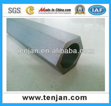 hexagonal pipe,hex tube, cold drawn special shaped steel tubes