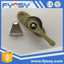 factory supply aluminium alloy hook accessories sliding window security lock