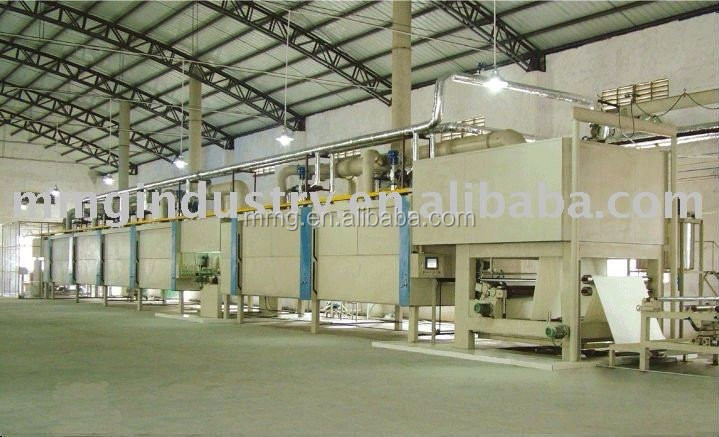melamine paper MMG 1500B 4ft two step impregnation line for decoration paper