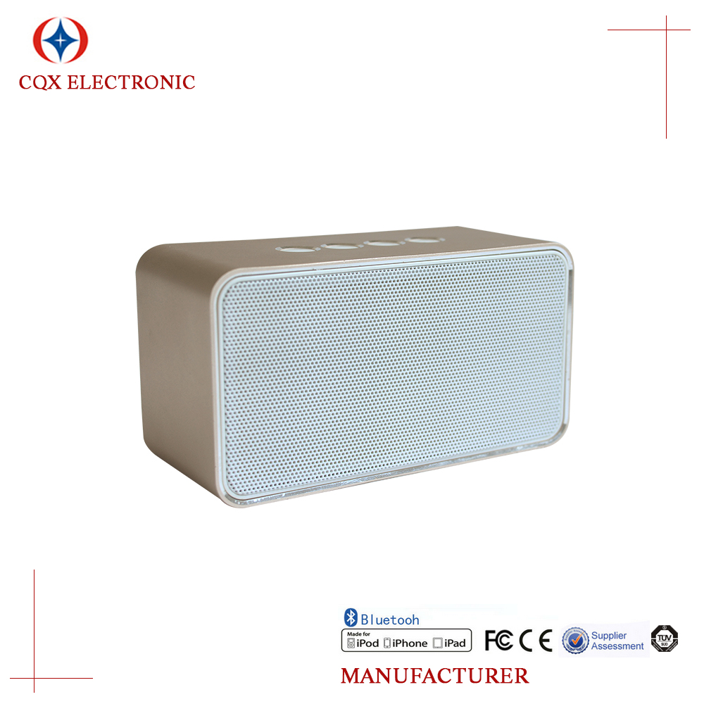 New Portable Metal Powerful Mini Speaker Volume Control For Mobile Phone/Tablet Support TF Card