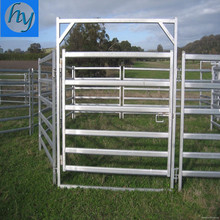 Free standing round pipe sheep cattle livestock corral panel fence