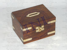 Wooden Money Box, Money Safe Box, Hidden Money Box