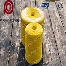 cheap ,wear-resisting, pp baler twine/packing ropepolypropylene pp raffia string/aramid yarn/pp film plastic binding rope