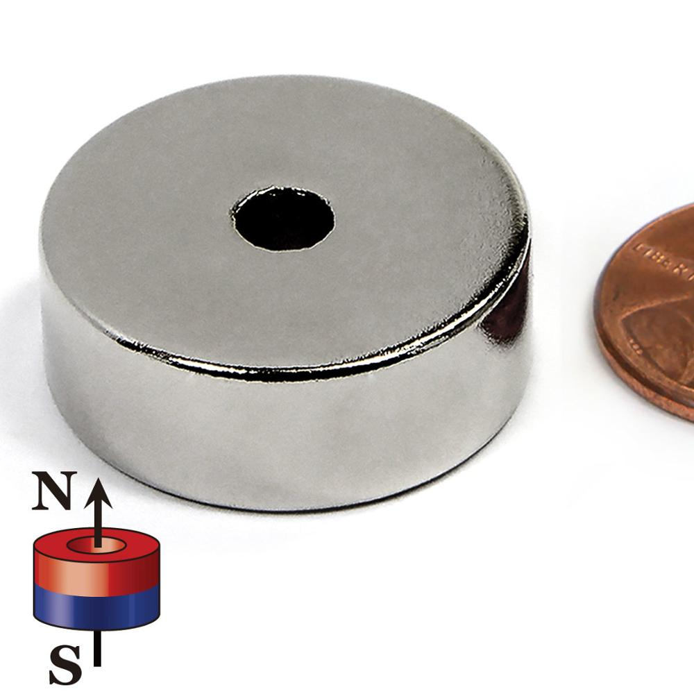 Direct Factory <strong>Price</strong> N38 Ring Neodymium Magnets D22 x d6 <strong>x10</strong> mm NiCuNi Coated