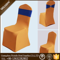wholesale custom gold wedding spandex chair cover for wedding chairs