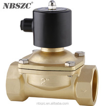 2W series 2 inch 220v ac brass electric solenoid water valve