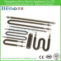 Fin Heating element and Fin heater tube and Fin heater element