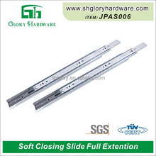High quality beautiful 35mm soft close drawer slide track