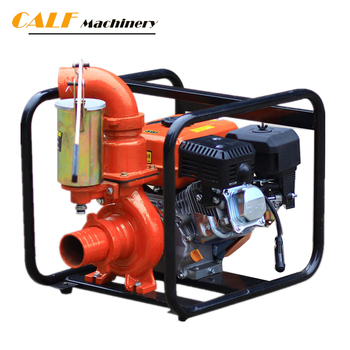 High performance price ratio water pump with gasoline engine Hand handle
