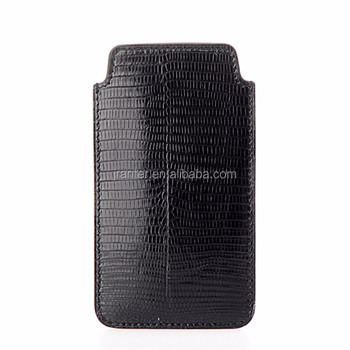 OEM Genuine Lizard for iPhone 6/6s Case Leather New Design Mobile Phone Pouch