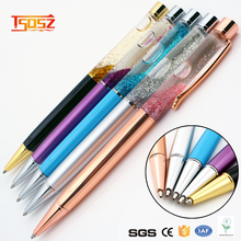 China professional manufacture Office Supplies decorative metal body ballpoint pen